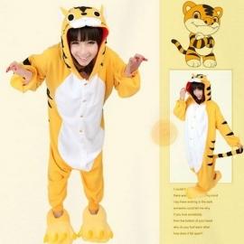 Leeuw onesie, onepiece, jumpsuit, pyjama.