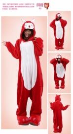 Red Bird onesie, onepiece, jumpsuit, pyjama,
