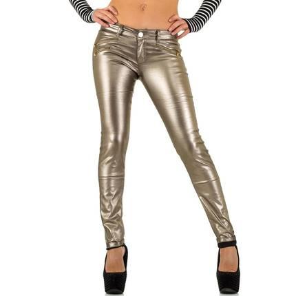Bronze skinny broek maat 40