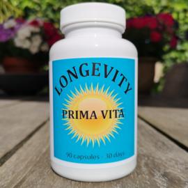 Prima Vita Gezond Leven - 90 capsules - 1 maand supply
