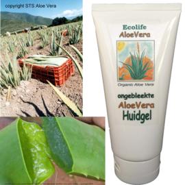 Aloe Vera Huidgel (gelly / handgel) voor ieder huidtype 180ml