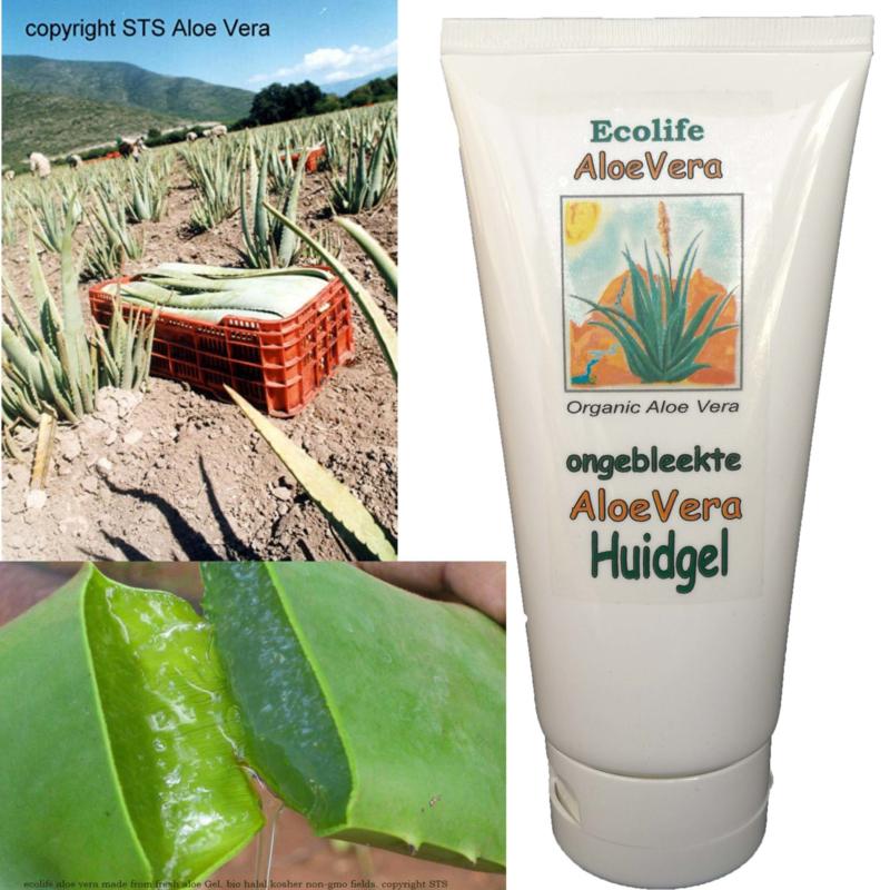 2+1 extra Aloe Vera gel (gezicht/ hand/ body) voor ieder huidtype 180ml