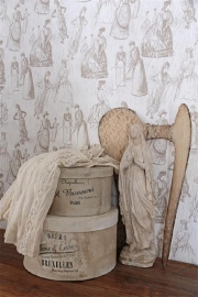 Wall paper, Toile