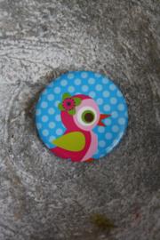 vrolijke button 10