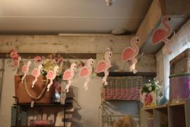 "Leuke papieren slinger ""Flamingo"""