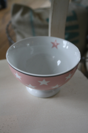 "Happy bowl ""pink stars"""