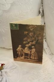 """mooie dubbele kaart met bijpassende envelop """" romantisch beeld"""""""