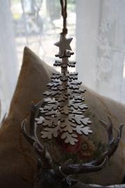 """houten hanger """"Snowflake"""" S"""