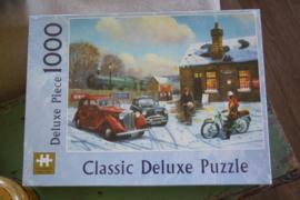 """Puzzel 1000 stukjes """"Classic de luxe , Arrival"""""""
