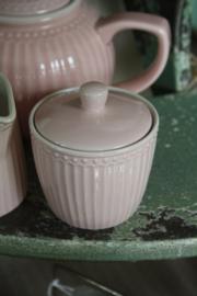Sugar pot Alice pale pink