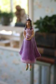 """bloemenmeisje """"Vingerhoedskruid in paars"""