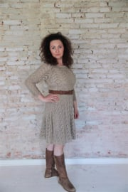 Dress Heavenly life Light brown in M/L