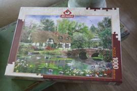 """puzzel 1000 stukjes """" Waterlilies"""""""