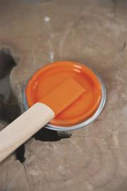 """Vintage paint """"Bright orange"""" 700 ml"""