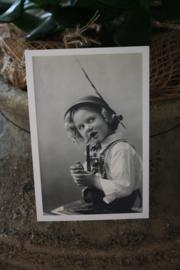 """oud Hollandse kaart """"Tiroler vriendje"""""""