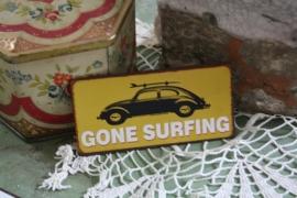 """leuke magneet """"gone surfing"""""""