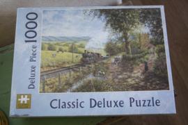"Puzzel 1000 stukjes ""Classic de luxe , Morning service"""