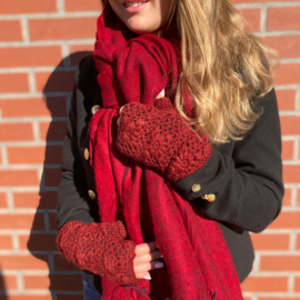 Handwarmers in rood