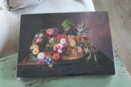 "houten wandbord ""rozen"""