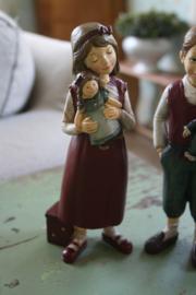 """prachtig beeld """"Willemijn met haar pop"""""""