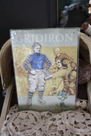 """metalen plaat """"Gridiron"""""""