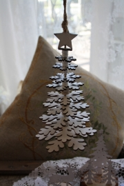"houten hanger ""Snowflake"" M"