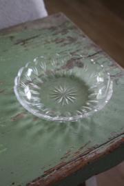 oud glazen schaaltje schaaltje
