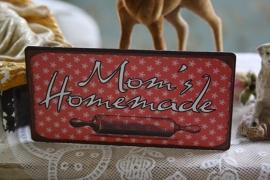"mooie magneet ""Mom's homemade"""