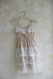 Dress  summer dream Cream/brown