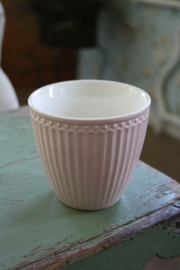 "Greengate latte cup ""Alice pale pink"""
