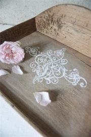 Stamp filigree