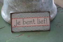 magneten met tekst