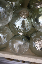 Calm green luster Glass ball S