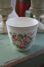 Latte cup Aurelia white