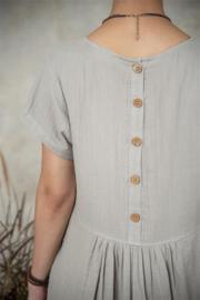 Su20 Dress grey maat M/L