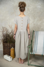 Su20 Dress grey maat M/L