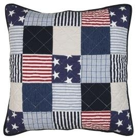 "superstoere kussenhoes ""Stars and stripes"""
