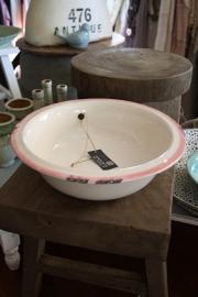 Bowl enamel pink
