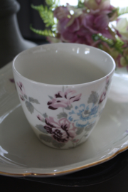 "Greengate latte cup ""Maude white"""