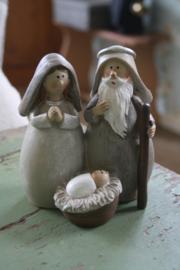 "mooi beeldje 'Josef en Maria met kindeke Jezus"" L"