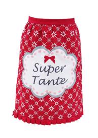 """vrolijke heupschort """" Super tante"""""""