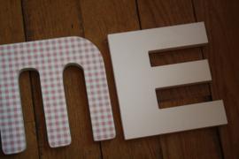 """houten letters """"Home"""""""
