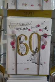 """Gefeliciteerd stralende 60 """"Jij bent super speciaal"""""""