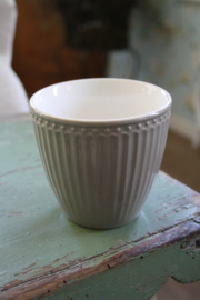 "Greengate latte cup ""Alice warm grey"""