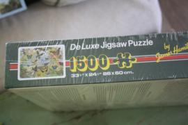 "Puzzel 1500 stukjes "" Flying Rainbows"""