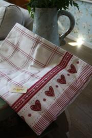 """tafelkleed """"Hearts"""" 150 x 250 cm"""