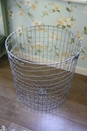 Iron basket round L