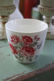Latte cup Elisabeth pale blue