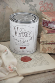 "Vintage paint ""Rusty Red"" 700ml"