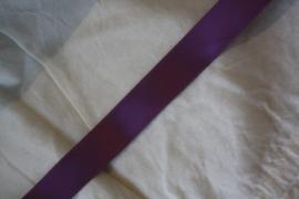 Satijnlint in paars